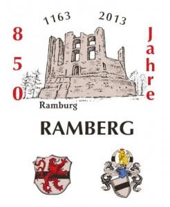 850 Jahre Ramberg - Logo